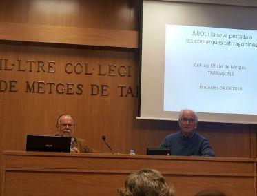 Conferència donada per l'arquitecte tècnica Josep Maria Buqueras.
